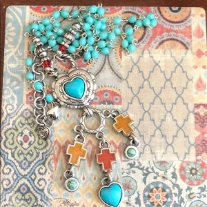 Brighton Loretto Heart Necklace